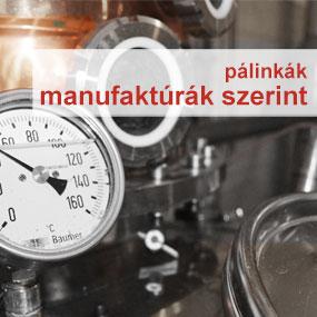 Pálinkálk manufaktúrák szerint