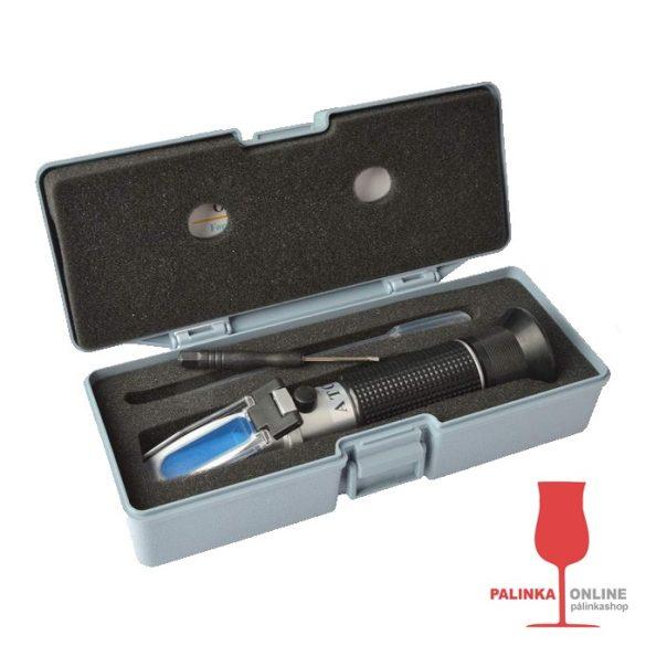 Refraktometer (BRIX mérő) segítségével cukortartalmat illetve fajsúlyt is mérhet | palinka.onle