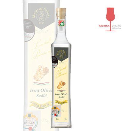Irsai Olivér szőlőpálinka   Madarasi Limitált Prémium pálinkacsalád