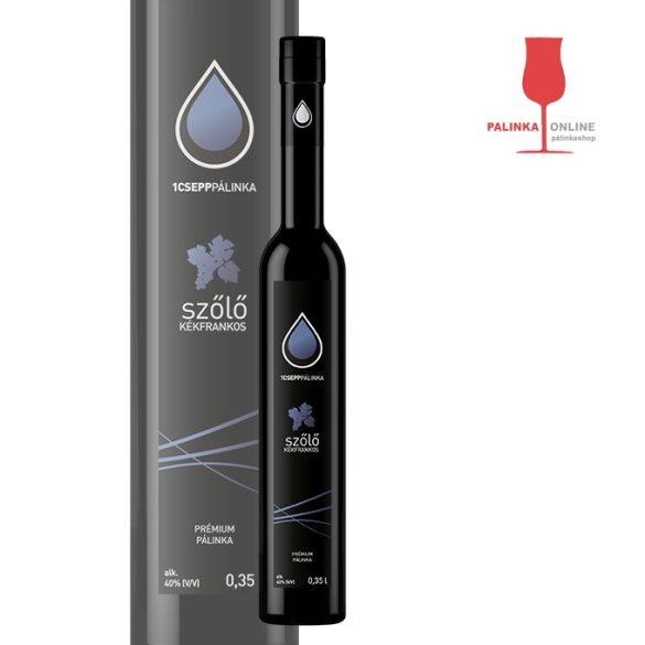 Kékfrankos szőlőpálinka 350 ml | 1Csepp pálinkaház