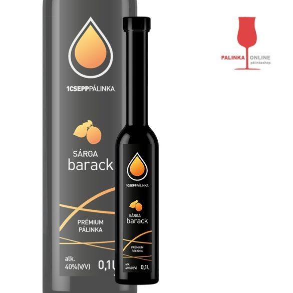 Sárgabarack pálinka 100 ml | 1Csepp pálinkaház