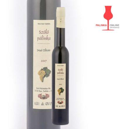 Irsai Olivér szőlőpálinka | Brill pálinkaház