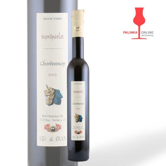 Chardonnay seprőpárlat | Brill pálinkaház