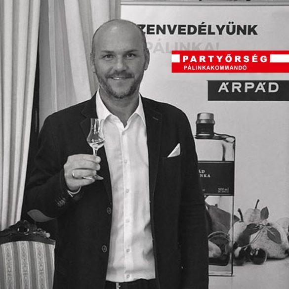 Ez ám az ital!  Árpád Dupla Ágyas Szilvapálinka 60% vásárlás a palinka.online pálinkashopban