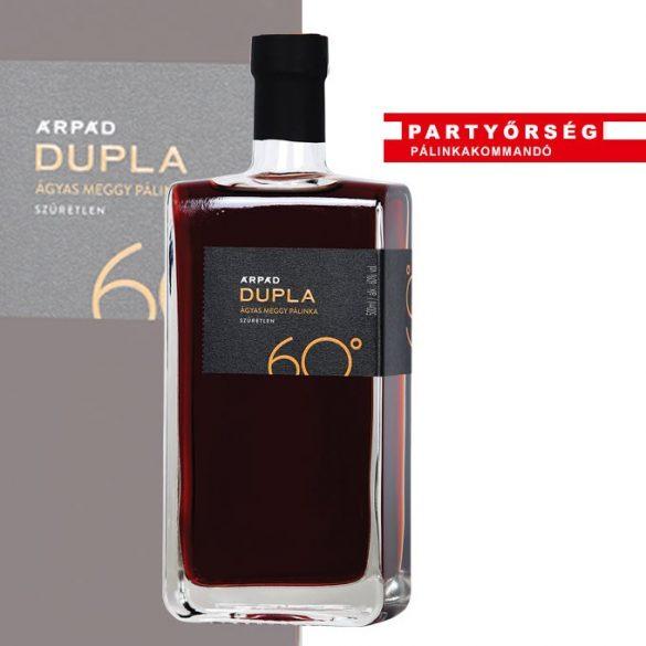 Ez ám az ital!  Árpád Dupla Ágyas Meggypálinka 60% vásárlás a palinka.online pálinkashopban