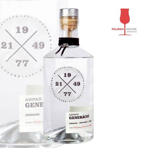 Ez ám az ital!  Árpád Generáció Pálinka vásárlás a palinka.online pálinkashopban