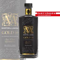 Ez ám a pálinka! Márton és Lányai Gold Irsai Olivér Szőlőpálinka  a Partyőrség pálinkashopban!