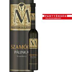 Ez ám az ital!  Márton és Lányai Szamócapálinka  a palinka.online pálinkashopban!