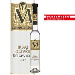 Ez ám az ital!  Márton és Lányai Irsai Olivér Szőlőpálinka  a Partyőrség  pálinkashopban!