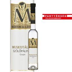 Ez ám az ital!  Márton és Lányai Muskotályos Szőlőpálinka  a palinka.online pálinkashopban!