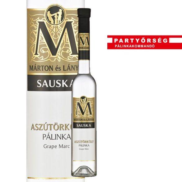 Ez ám az ital!  Márton és Lányai Sauska aszútörköly pálinka  a palinka.online pálinkashopban!