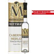 Ez ám az ital!  Márton és Lányai Frittmann cabernet-merlot törkölypálinka a Partyőrség webshopban!