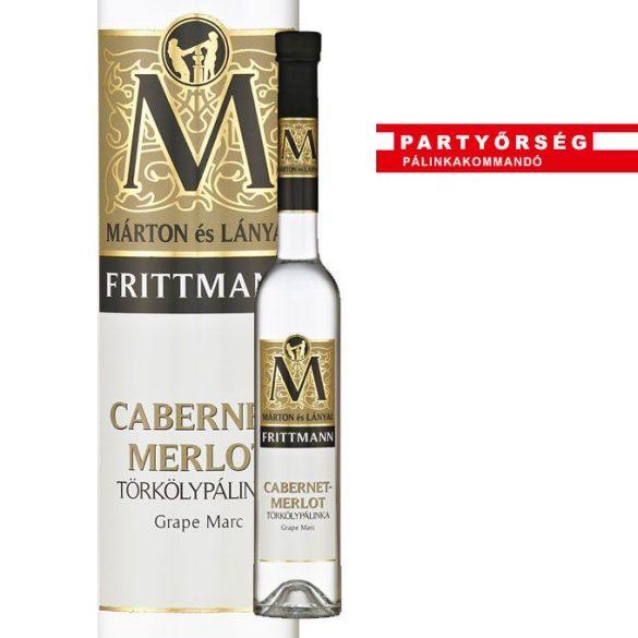Ez ám a pálinka! Márton és Lányai Frittmann cabernet-merlot törkölypálinka a Partyőrség webshopban!