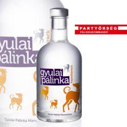 Gyulai Kajszibarack Pálinka a cinkos könnyedség és a csiklandozó illatosság.