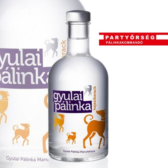 Kajszibarack pálinka 50 ml  | Gyulai pálinka