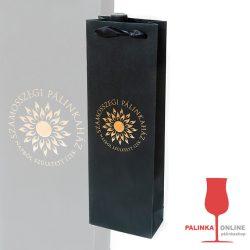 Szamosszegi Pálinkás Dísztasak Szamosszegi pálinkákhoz arany vagy ezüst színnel