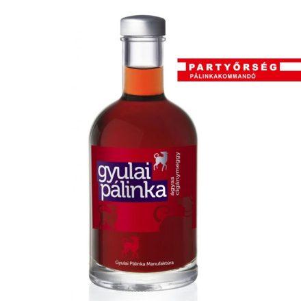 Ágyas Cigánymeggy pálinka 50 ml   Gyulai pálinka