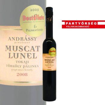 Andrássy Muscat Lunel Törkölypálinka   Agárdi pálinka   Partyőrség