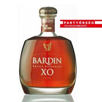 Micsoda párlat! Márton és Lányai BARDIN XO 10 éves borpárlat a Partyőrség pálinkashopban!