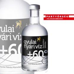 Gyulai Mélyvíz Nyári Víz Pálinka könnyed és üdítő, lendületes párlat, kötöttség nélkül.