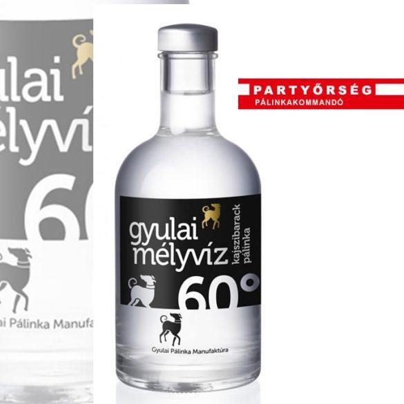 Gyulai Mélyvíz Kajszibarack Pálinka a cinkos könnyedség és a csiklandozó illatosság.
