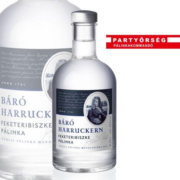 Báró Harruckern Fekete Ribiszke Pálinka Illata intenzív, friss, elegáns, gyümölcsös