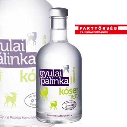 Kóser Vilmoskörte pálinka   Gyulai pálinka