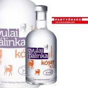 Gyulai Kóser Kajszibarack Pálinka hátterében kellemes aszalt barack-jelleg bujkál.