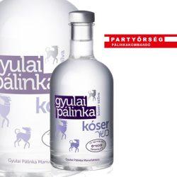 Gyulai Kóser Szilva Pálinka a csodás virágillat és a mézédes szilvakarakter tökéletes egysége.