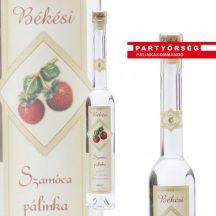 Micsoda pálinka! Békési prémium Szamócapálinka  a Partyőrség | Pálinkakommandó pálinkashopban!