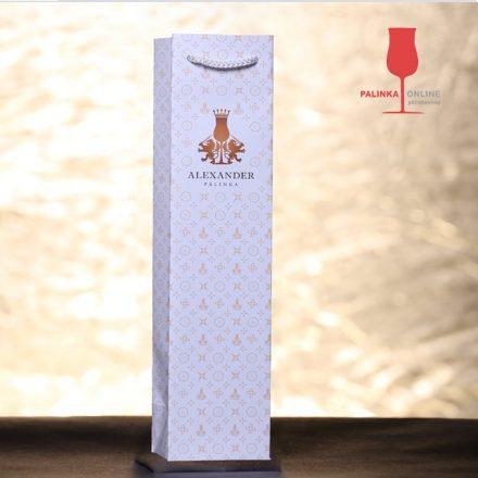 Dísztasak 350 ml-es palackhoz   Alexander pálinka