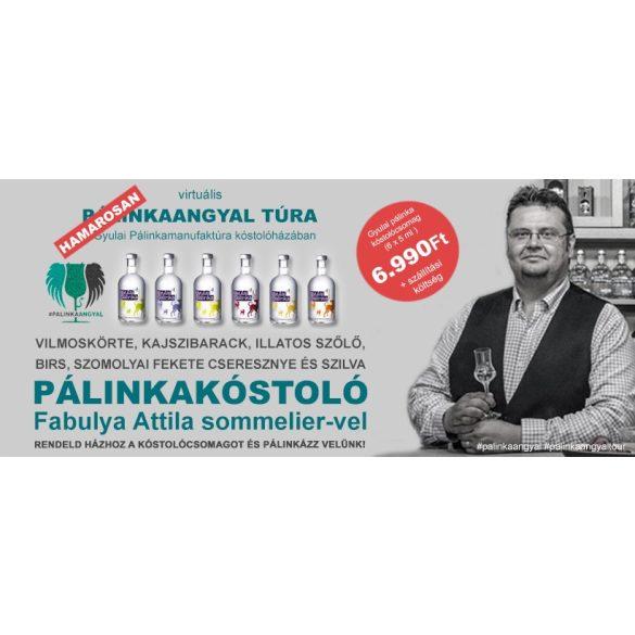 Kóstolócsomag Fabulya Attila online párlatvezetéséhez