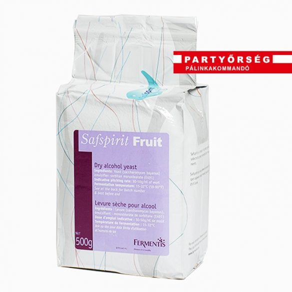 Safspirit Fruit univerzális élesztő gyümölcscefrekészítéshez | palinka.online