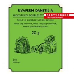 Uvaferm Danstil A univerzális élesztő gyümölcscefre készítéshez és erjesztés újraindításhoz