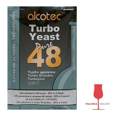 Alcotec Turbo 48 fajélesztő csomag gyümölcscefre készítéshez