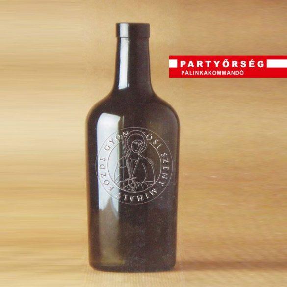 Saját címkedesign Cubano palackra - Pálinkadesign a palinka.online pálinkashopban!