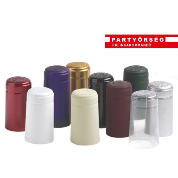 Házi pálinkafőzés kellékei: PVC kapszula pálinkás üvegre a palinka.online pálinkashopban!