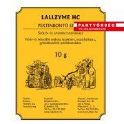 LaLLzyme HC pektinbontó enzim alkalmas a pálinkacefrében lévő gyümölcsök pektinbontására.