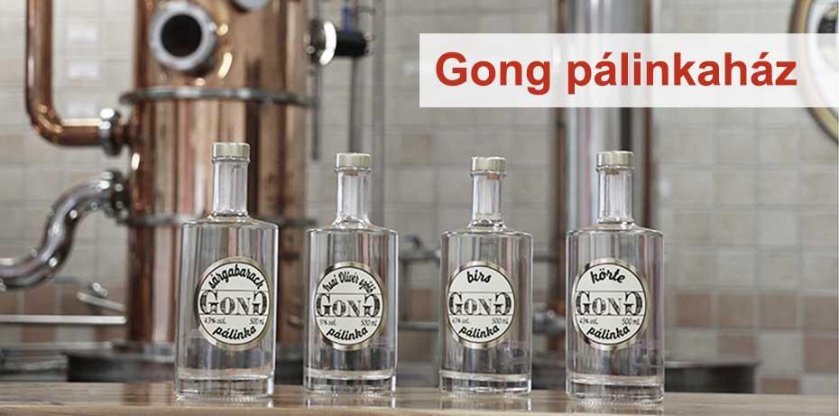 Gong pálinkák a palinka.online webshopban